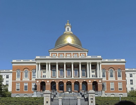 Massachusetts State House.
